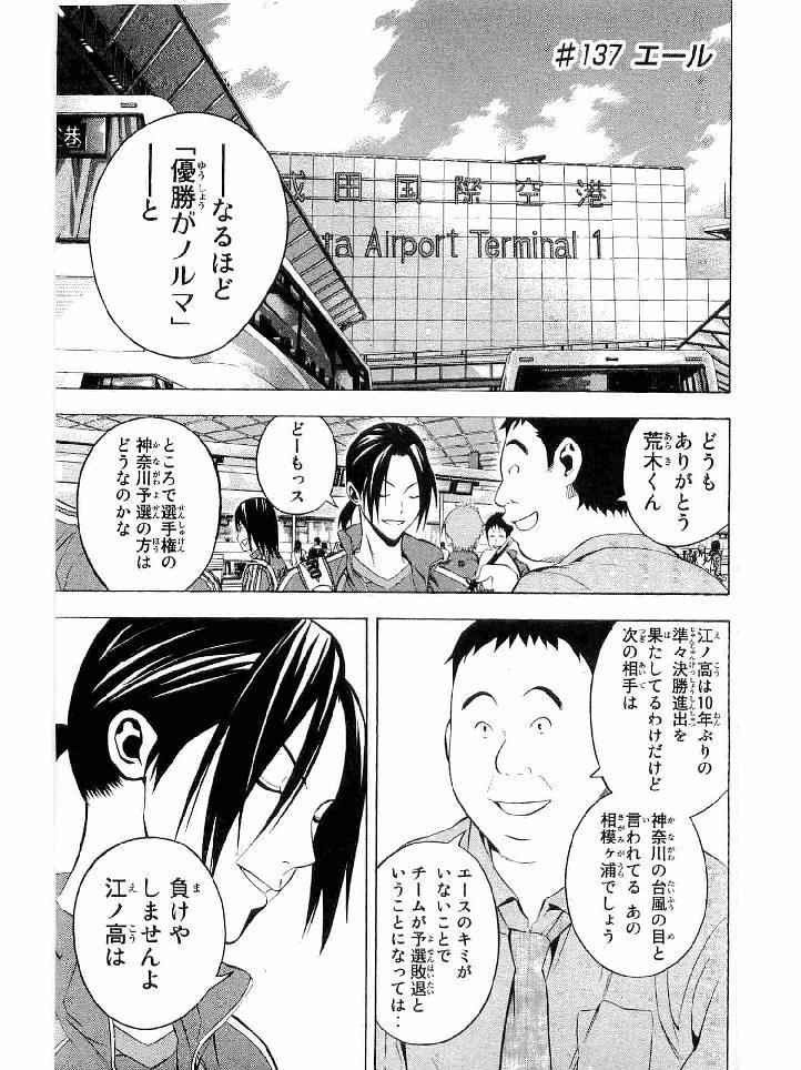 Area no Kishi - Chapter 137 - Page 1