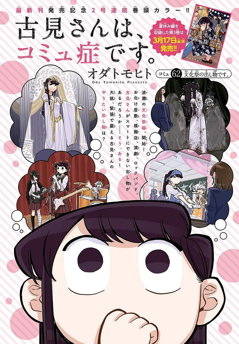 Comi-San-ha-Comyushou-Desu Chapter 062 Page 1