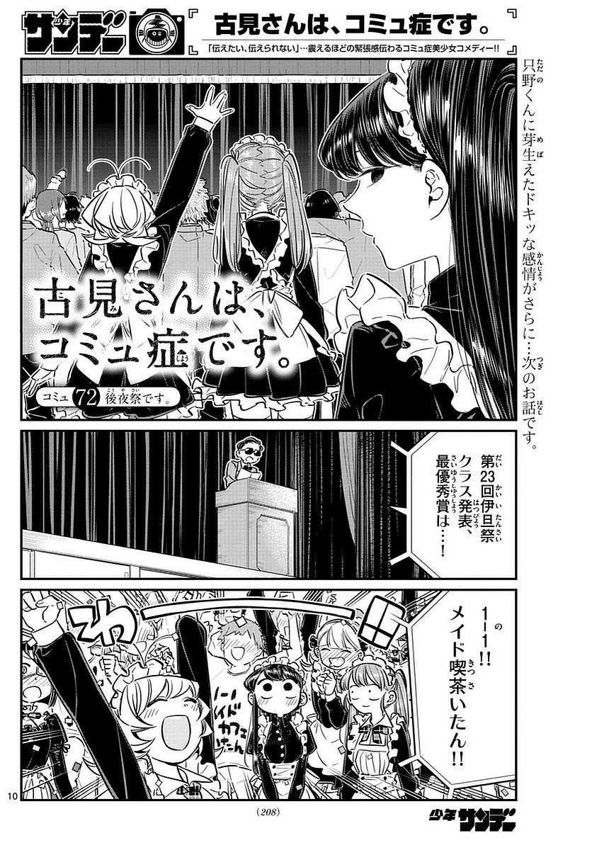 Comi-San-ha-Comyushou-Desu Chapter 072 Page 1