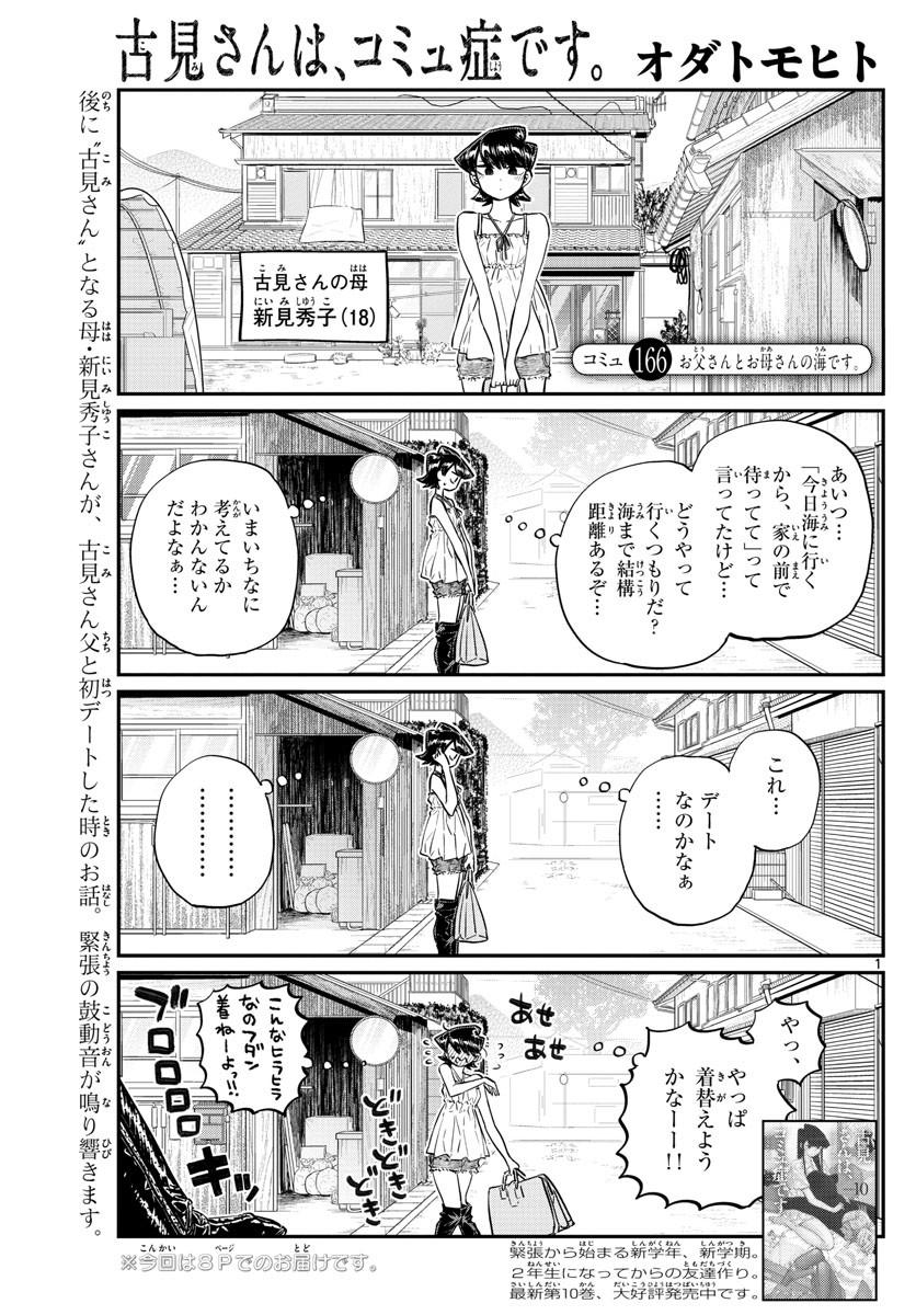 Comi-San-ha-Comyushou-Desu Chapter 166 Page 1