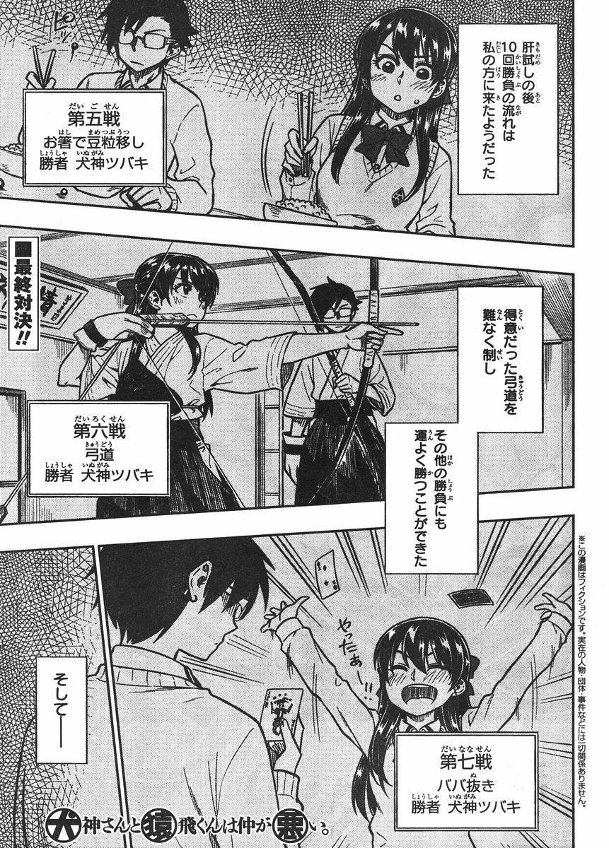 Inugami-san-to-Sarutobi-kun-wa-Naka-ga-Warui Chapter Final Page 1