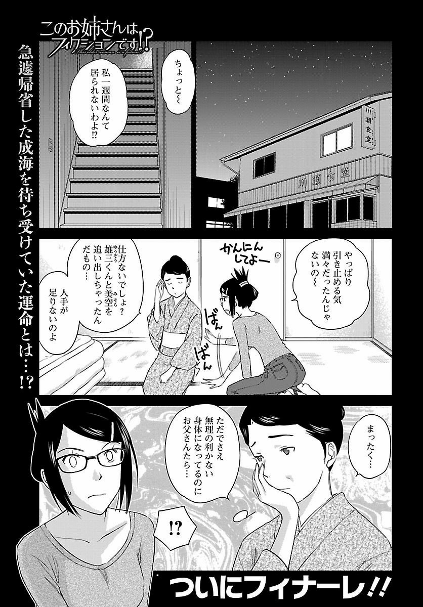 Kono_Oneesan_wa_Fiction_desu! Chapter Final Page 1